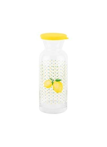 Tantitoni Limon Desenli Karaf 1Lt Renkli